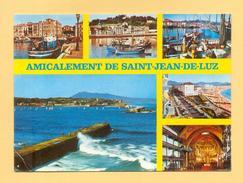 CPM FRANCE 64  ~  SAINT-JEAN-DE-LUZ  ~  2950  Amicalement De ...  Divers Aspects  ( Yvon 1978 ) - Saint Jean De Luz