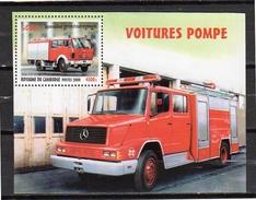 Fire Brigade Car MNH 2000 Block Michel # 273 (c30) - Cambodja