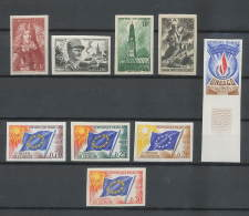 Départ 1 Euro - Cote 420 Euros - Lot De Timbres De FRANCE Non Dentelé  (imperforate) - France