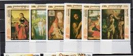 1998 ITALIA '98 Christian Paintings MNH Set  Michel # 1852 - 1858 (c31) - Cambodja