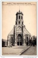 Cp, 14, HONFLEUR, Eglise Saint Léonard, Vierge - Honfleur