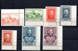 Serie  Nº 559/65 Borde De Hoja.  España - 1889-1931 Reino: Alfonso XIII