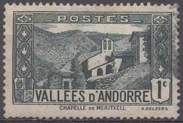 ANDORRE  FRANCAIS  N°24__OBL VOIR SCAN