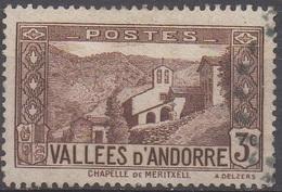 ANDORRE  FRANCAIS  N°26__OBL VOIR SCAN