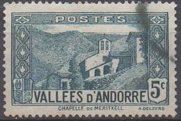 ANDORRE  FRANCAIS  N°27__OBL VOIR SCAN