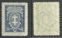 LITAUEN Lithuania 1930 Michel 292 * - Lituanie