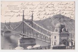 BUDAPEST. Franz Josefsbrücke. 1903 - Hongrie