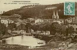 -dpts Div.-ref-NN797 - Ardeche - La Louvesc - Lac Du Grand Lieu Et Vue Generale - Carte Bon Etat - - La Louvesc