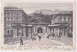 BUDAPEST. Ofener Tunnel. 1903 - Hongrie