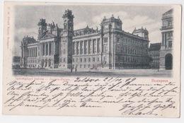 BUDAPEST. Justitz Palais. -Palais De Justice    1899 - Hongrie