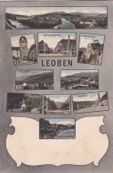Leoben - 10 Bilder (35941) * Karte Von 1904 * 21. X. 1919 - Leoben