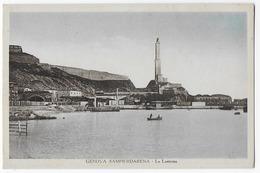 Cpa Bon Etat , Italie , Ligurie , Genova , Sampierdarena   La Lanterna, Carte Rare - Genova