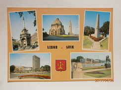 Postcard Liege Luik Belgium Multiview My Ref B21207 - Liege