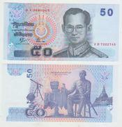 Thailand 50 Baht 2004 Pick 112 Sign 76 UNC - Thailand