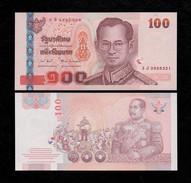Thailand 100 Baht 2005 Pick 114 Sign82 UNC - Thailand