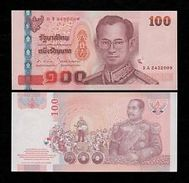 Thailand 100 Baht 2005 Pick 114 Sign83 UNC - Tailandia