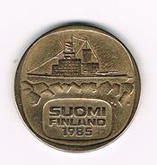 )  FINLAND  5 MARKKAA 1985 - Finlande