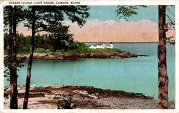 CPA Nigger Island Light House, Camden, Maine - Etats-Unis