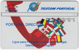 PORTUGAL A-785 Hologram Telecom - Flags Of European Nations - 422A - Used - Portugal