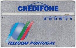 PORTUGAL A-804 Hologram Telecom - 129C - Used