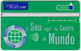 PORTUGAL A-816 Hologram Telecom - 525F - Used - Portugal