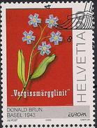 2003 Schweiz Mi. 1838FD-used   Europa: Plakatkunst. - Usados