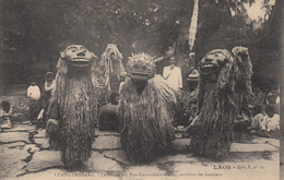 CPA - Luang Prabang - La Danse Des Pou Gnieu Gnia Gnieu - Ancêtres Des Laotiens - Laos