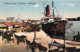 BERMUDES / Steamer Day - Hamilton - Bermudes