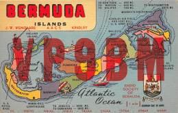 BERMUDES / Carte QSL - Bermudes