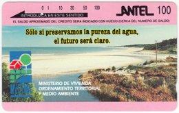 URUGUAY A-183 Optical Antel - Landscape, Coast - Used