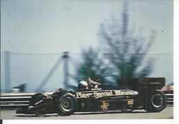 """PHOTO D'ARCHIVES : COURSE AUTOMOBILE - U.S.A. BRESIL - 1984 - """" LOTUS RENAULT TURBO """" - Pilote: E. DE AU..... - Brazil"""