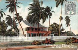 COLONIE A. Et H. / Belize - Summer Résidence St Georges Caye Near Belize - British Honduras - Belize