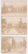 Russie - Crimée - Crimea - Villa Aïn Todor - Lot De 3 Cartes Postales Photographiques 1914 - Rusland