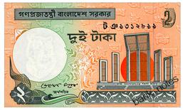 BANGLADESH 2 TAKA 2010 Pick 6Cn Unc - Bangladesh