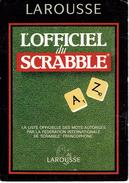 Carte Postale Larousse L'Officiel Du Scrabble Invitation à La Parution De La 3ème édition, 4/8/1998, Bruxelles - Cartes Postales