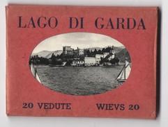 Coffret Photos Cecami - LAC DE GARDE / LAGO DI GARDA - 20 Mini Photos - Reproductions