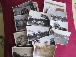 16 Photos Du Congo  Vers 1930 - Fotos