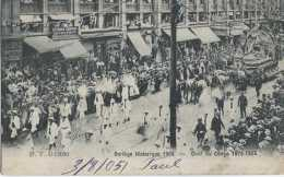 Bruxelles - Cortège Historique 1905 - Char Du Congo - Circulé - Dos Non Séparé - Animée - TBE - Fêtes, événements