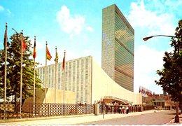 ONU New-York. Carte Postale écrite. Siège De L'ONU. - New York City