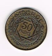 )  MAROKKO  50  FRANCS  1371 - Maroc
