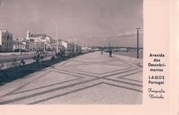 POSTAL PORTUGAL - LAGOS - AVENIDA DOS DESCUBRIMENTOS - FOTOGRAFIA BORLINHA - CIRCULADA - Portugal