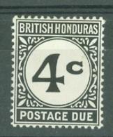 British Honduras: 1965/72   Postage Due    SG D5    4c    MH - British Honduras (...-1970)