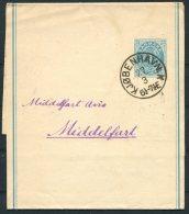 Denmark 4 Ore Stationery Wrapper Copenhagen - Middlefart - 1864-04 (Christian IX)