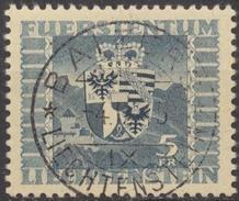 Landeswappen 1945: Zu 204 Mi 243 Mit Zentrum-o BALZERS 4.IX.45 (Zumstein CHF 50.00 )