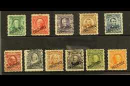 1903-04  Complete Definitive Opt'd Set, Scott 226/36, Fine Mint, 5c Without Gum (11 Stamps) For More Images,...