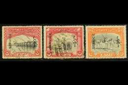 OFFICIAL  1945 (June) Vertical Overprint Set, SG O14/16, Fine Used. (3 Stamps) For More Images, Please Visit...