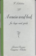 A Concise Word Book For Boys And Girls - Educación