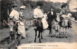 En Campagne - Une Noce à âne - Donkey Mariage - Noces