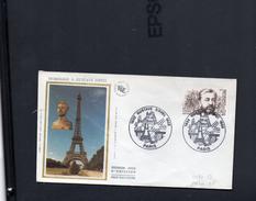 FDC France    Gustave Eiffel 1832-1923 Ingénieur Paris  8 Décembre 82  °YT  2230 - FDC