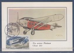 Les Avions Postaux Laté 28 - Verso 1928 Aéropostale Ligne Amérique Du Sud PA50 Et 3088 Verso - Philately & Coins